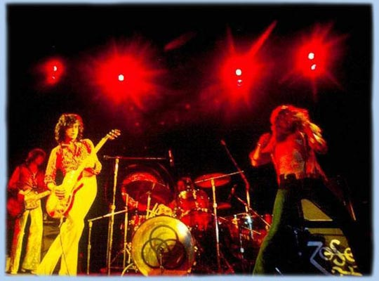 Enter to Led Zeppelin homepage